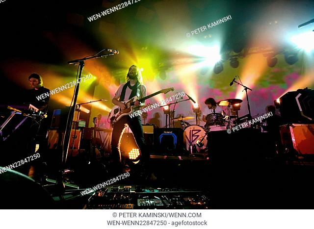 Tame Impala headline at the Barrowlands Ballroom in Glasgow Featuring: Tame Impala Where: Glasgow, Scotland, United Kingdom When: 08 Sep 2015 Credit: Peter...