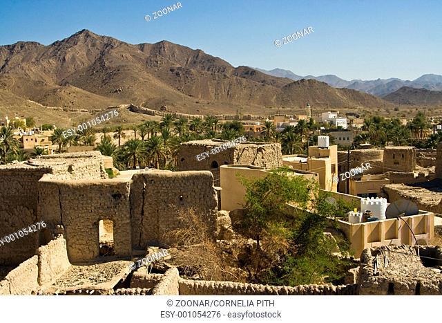 Stadt Bahla im Oman, City Bahla in Oman