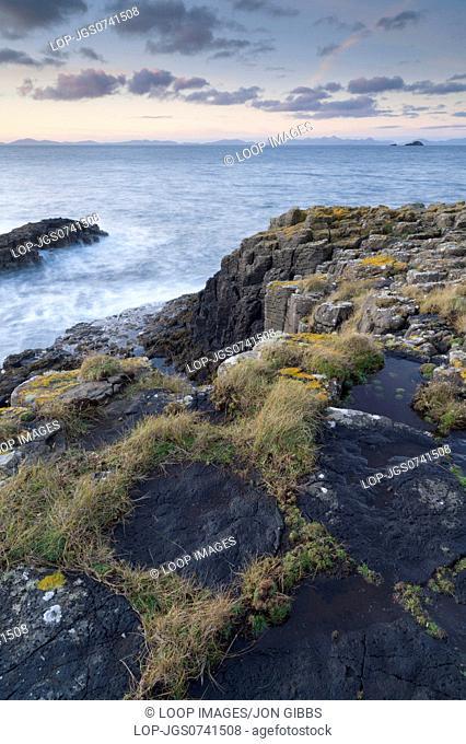 View from the coastline near Bornesketaig on the isle of Skye