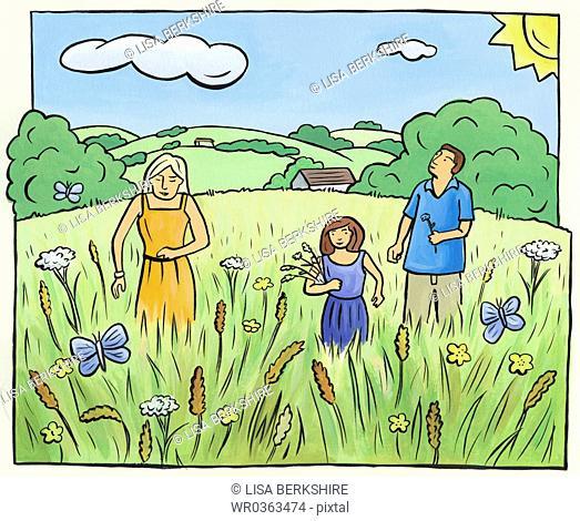 Picking Wild Flowers
