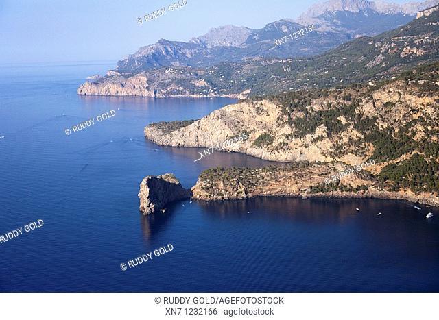 Punta de Sa Foradada, Mallorca, Balearic Islands, Spain