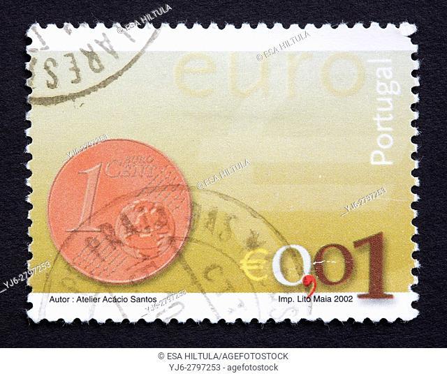 Portuguese postage stamp