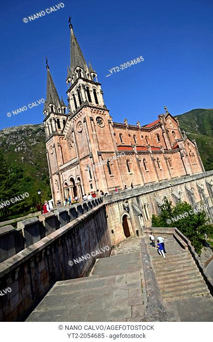 Basilica of Our Lady of Covadonga, Asturias