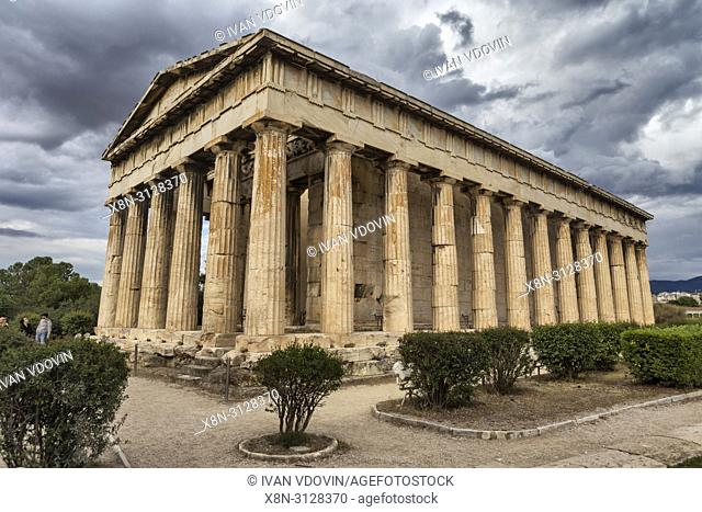 Temple of Hephaestus, Hephaestion, Theseion (415 BC), Ancient Agora, Athens, Greece