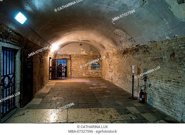 Venice, Doge's Palace, prison
