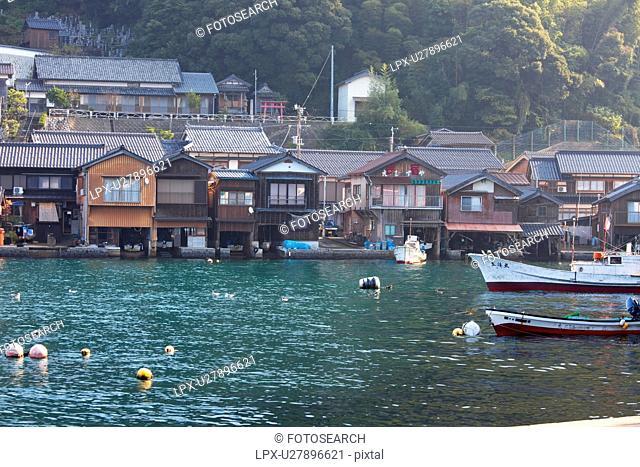 Ine Bay, Kyoto Prefecture, Honshu, Japan