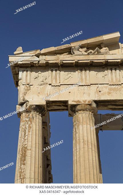 Relief, Parthenon, Acropolis, Athens, Greece