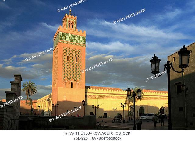 Ben Youssef Mosque, Marrakesh, Morocco