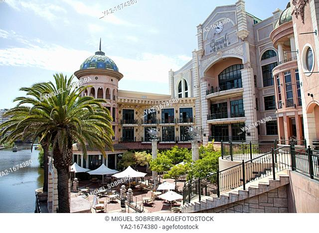 Canal Walk Terrace at Century City in Cape Town