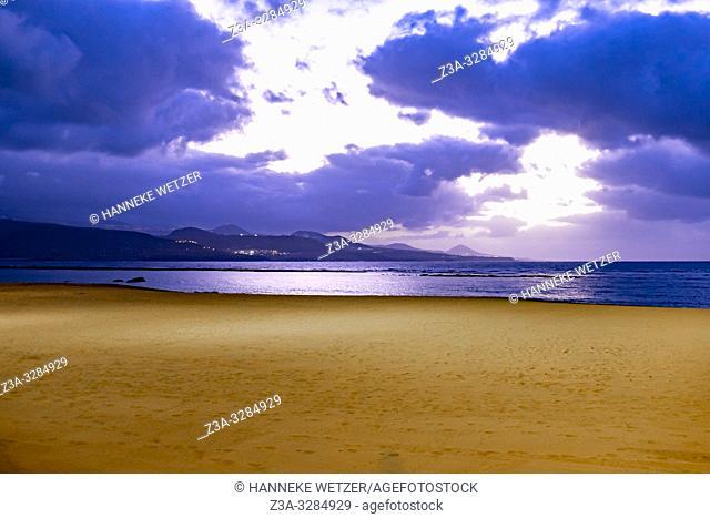 Beach of Las Palmas de Gran Canaria, Canary Islands