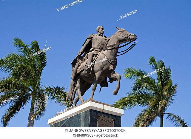 Monument to Simon Bolivar, Managua, Nicaragua
