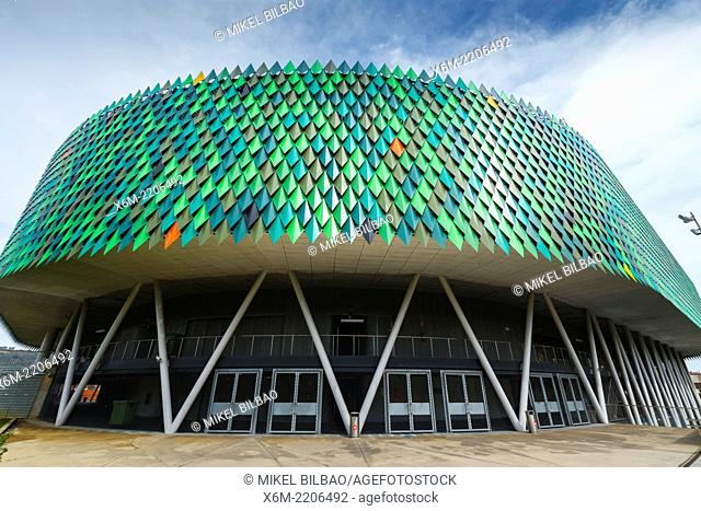 Bilbao Arena or Sport Palace. Bilbao. Biscay, Basque Country, Spain, Europe