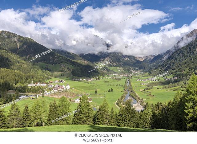 Ridanna / Ridnaun, Racines / Ratschings, Bolzano province, South Tyrol, Italy. The Ridanna Valley