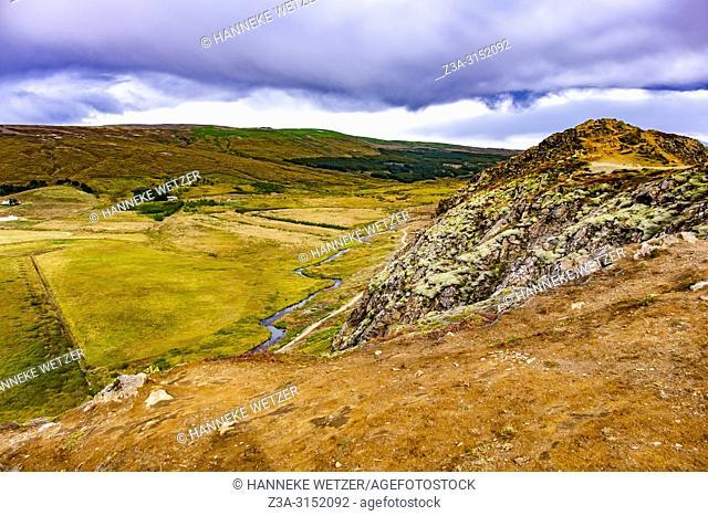 Haukadalur Valley, Southwest Iceland