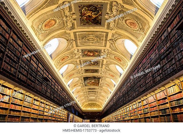 France, Paris, Heritage Days 2013, the Senate Library