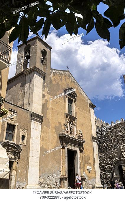Church of Santa Catarina, Taormina, Sicily, Italy