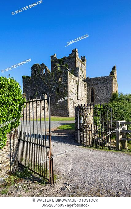 Ireland, County Wexford, Hook Peninsula, Campile, Dunbrody Abbey, 12th century
