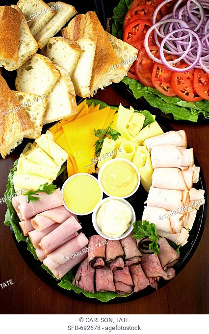 Make Your Own Sandwich Platter