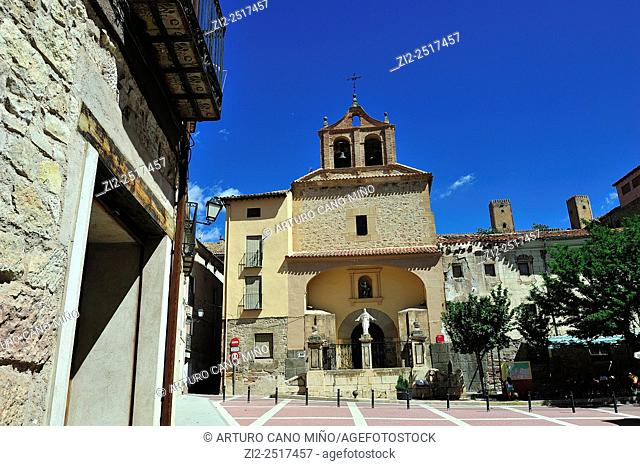 Church of San Pedro, XVI-XVIIIth centuries. Molina de Aragón, Guadalajara, Spain