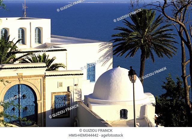 Tunisia, Sidi Bou Said (surroundings of Tunis)