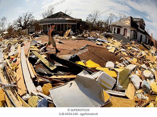 Walking Across The Destruction