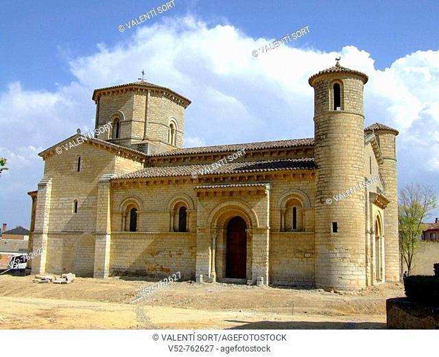 Iglesia de San Martín de frómista, S.XI, de estilo románico