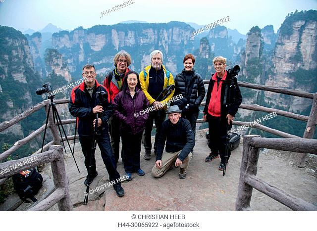 Asia, China, Chinese, Hunan Province, UNESCO, World Heritage, Wulingyuan, Wuling Mountain
