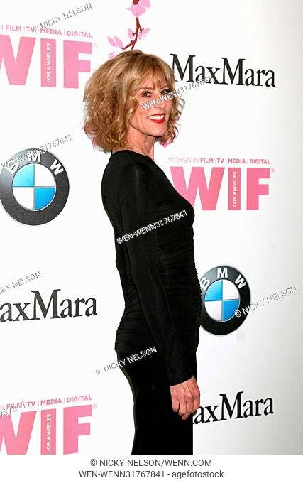 Women in Film celebrates the 2017 Crystal and Lucy Awards at the Beverly Hilton Hotel - Arrivals Featuring: Christine Lahti Where: Beverly Hills, California