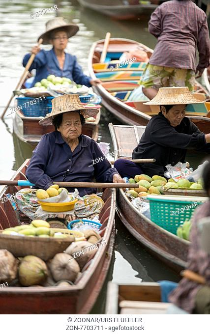 ASIA THAILAND SAMUT SONGKHRAM THA KHA FLOATING MARKET