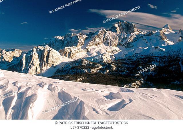 Sorapiss. Dolomites. South Tirol. Italy