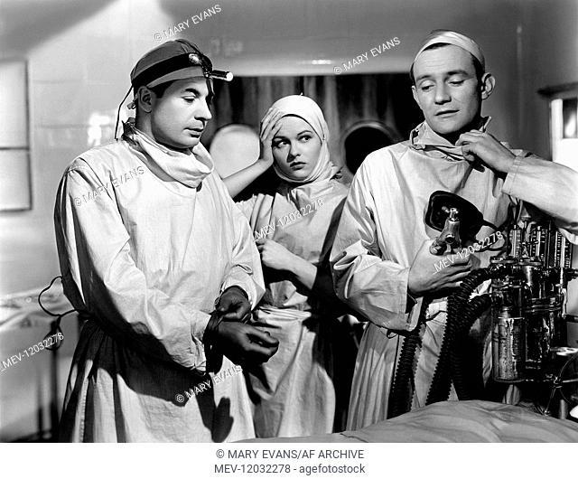 Leo Glenn, Sally Gray, Trevor Howard Characters: , Nurse Frederica 'Freddie' Linley, Dr. Barney Barnes Film: Green For Danger (1946) Director: Sidney Gilliat 05...