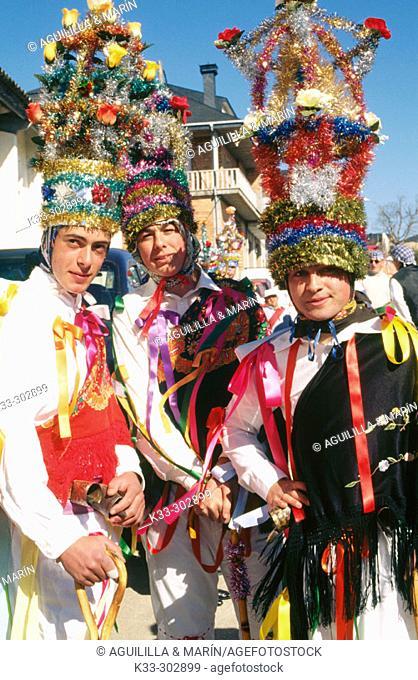 Carnival. Vilarmeao. Orense province. Galicia. Spain