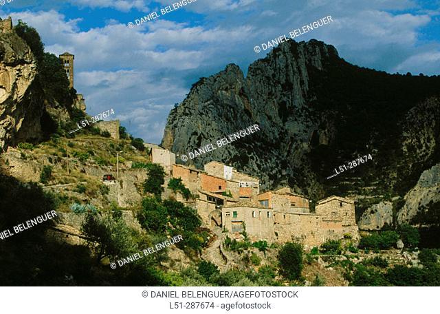 Abellà de la Conca. Lleida province, Spain