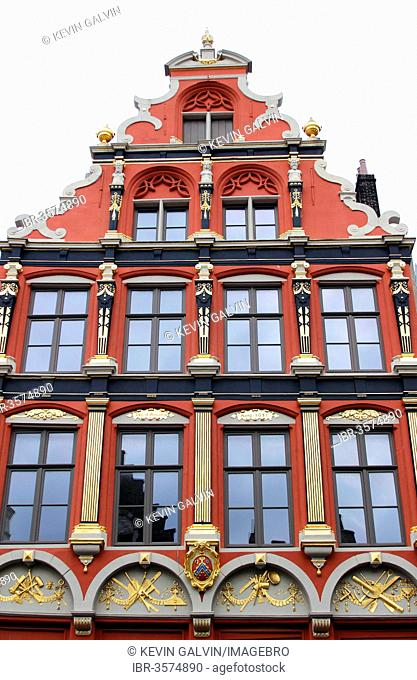 Guild Houses With Dutch Gables Stock Photos And Images Agefotostock