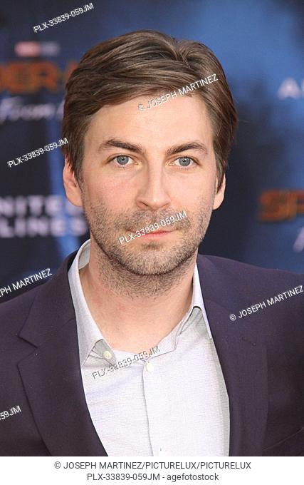 """Jon Watts at Columbia Pictures' and Marvel Studios' """"""""Spider-Man Far From Home"""""""" World Premiere held at the TCL Chinese Theatre in Hollywood, CA, June 26, 2019"""