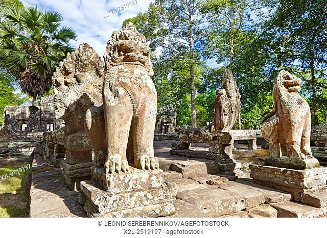 Banteay Kdei temple. Angkor Archaeological Park, Siem Reap Province, Cambodia