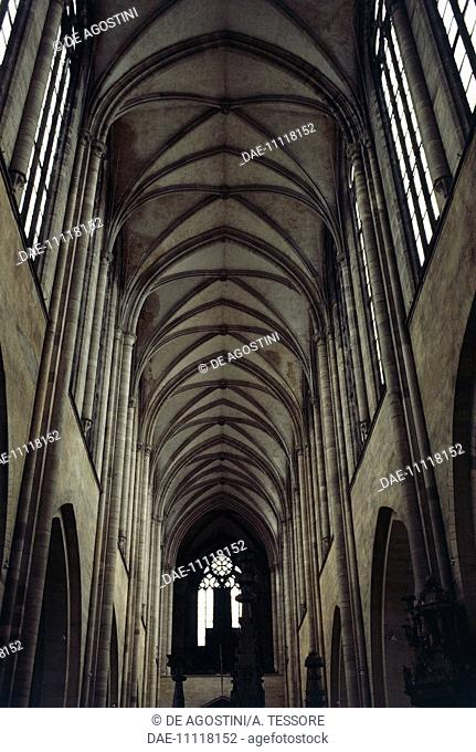 Nave, Cathedral of Magdeburg, Saxony, Germany