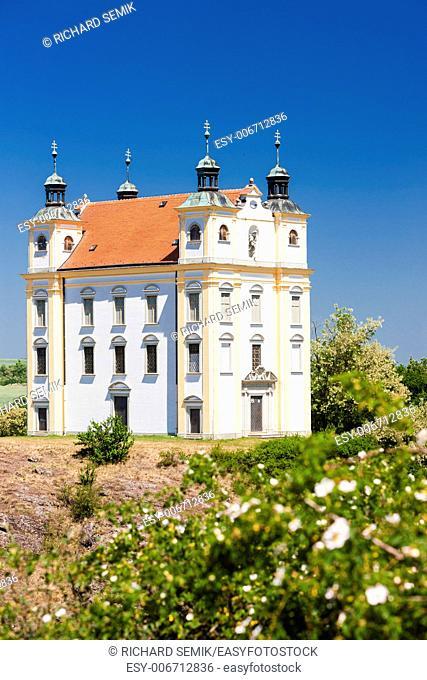 pilgrimage chapel of Saint Florian, Moravsky Krumlov, Czech Republic