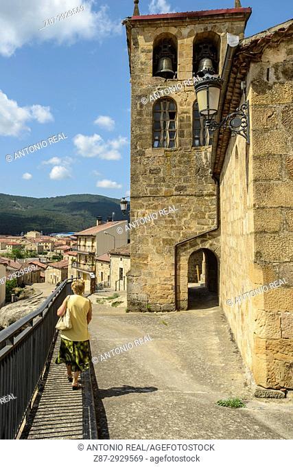 Regumiel de la Sierra. Alto Arlanza. Burgos province, Castile-Leon, Spain