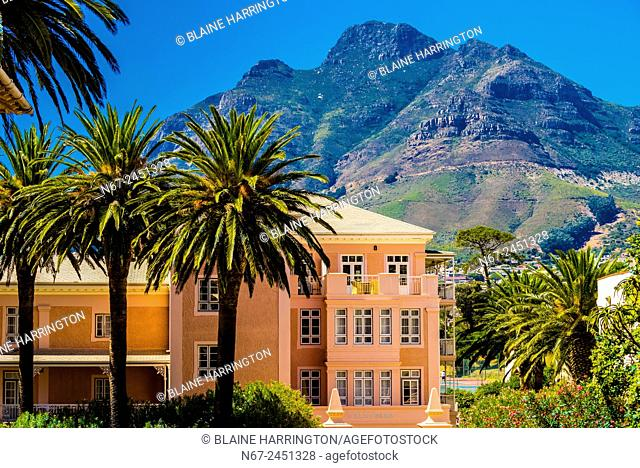 Belmond Mount Nelson Hotel (Table Mountain in background), Cape Town, South Africa