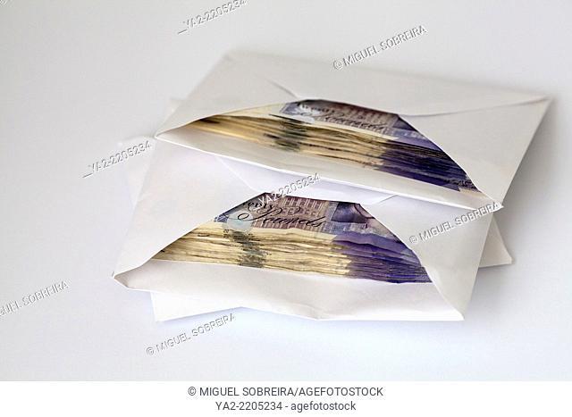 Cash in Envelopes - UK