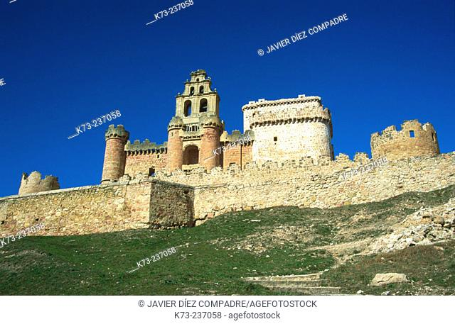 Castle (15th-16th century) of Turégano. Segovia province. Spain