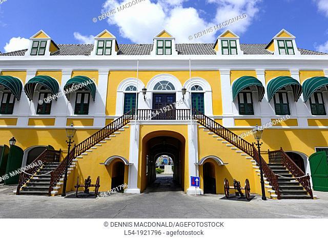 Fort Amsterdam Willemstad Curaçao Dutch Caribbean Island Netherlands
