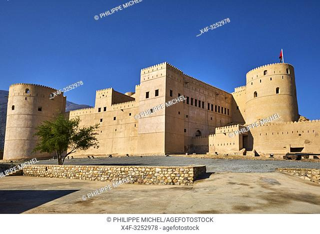 Sultanat d'Oman, gouvernorat de Al-Batina, Rustaq, Al Rustaq fort / Sultanat of Oman, governorate of Al-Batina, Rustaq, Rustaq Fort or Castle