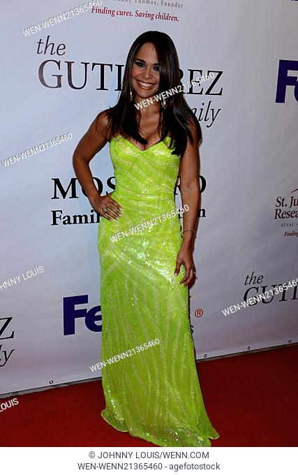 The Red Carpet at the 12th Annual FedEx/St. Jude Angels and Stars Gala Featuring: Mariela Encarnacion Where: Miami, Florida