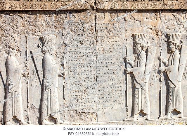 Pesepolis, world heritage archeological site, Persia, Iran