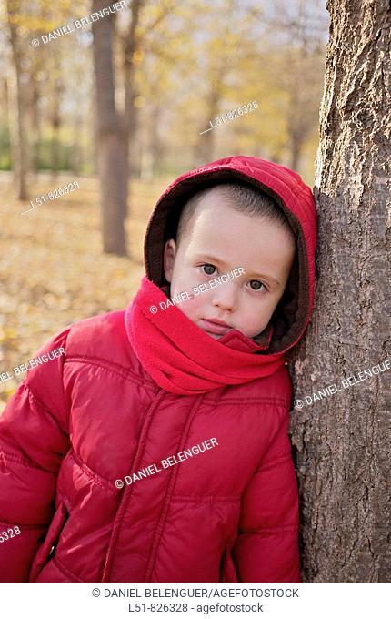Boy on Rampleta park, Valencia city, Valencia, Comunidad Valenciana, Spain, Europe