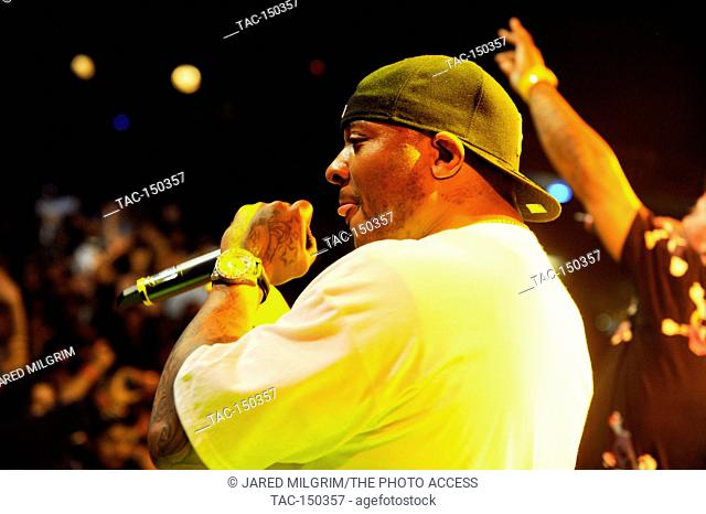 40 Glocc performs at the House of Blues Sunset on May 28, 2011 in West Hollywood