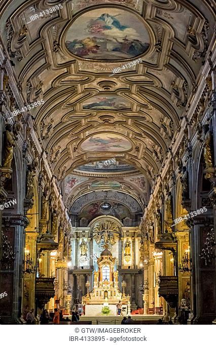 Santiago Metropolitan Cathedral, interior, Santiago, Chile