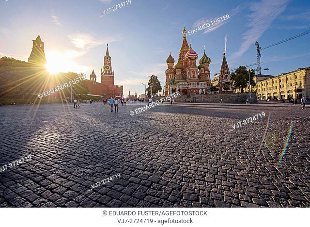 Red Square sunset (Moscow)